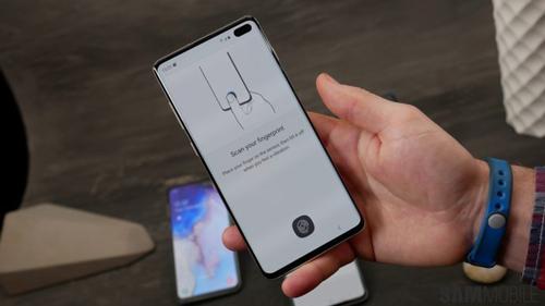فناوری اثر انگشت درون نمایشگر