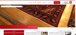وب سایت شرکتی تجاری داتیس
